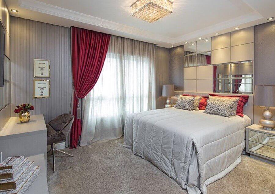 modelo de lustre de cristal para quarto de casal Foto Pinosy