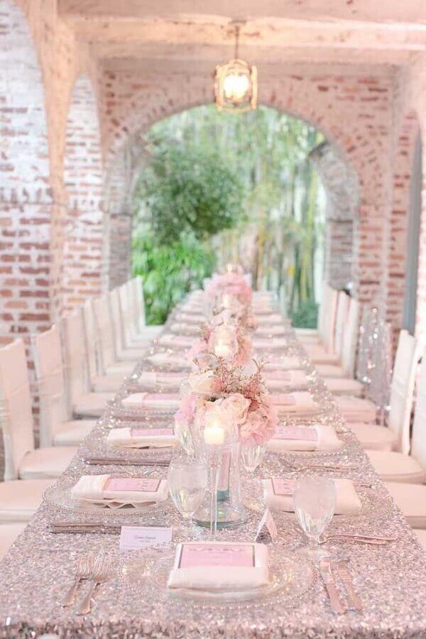 sofisticada decoração para bodas de prata Foto The Dandelion Patch