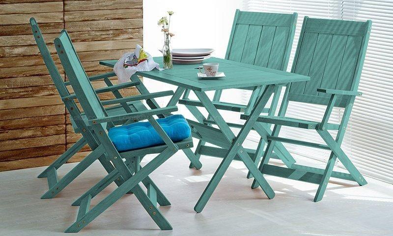 tinta para madeira - cadeiras verdes
