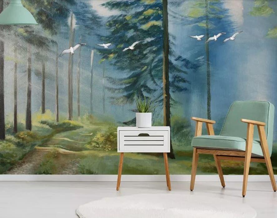 tinta para madeira - criado mudo de madeira branco