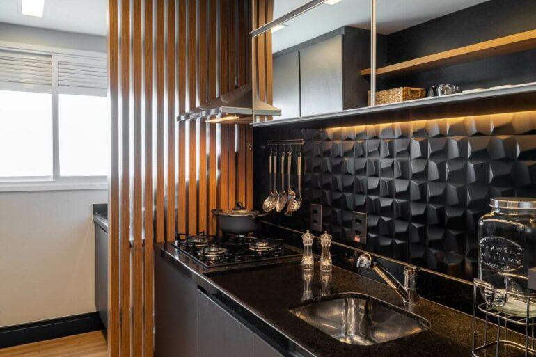 A pia de granito é um clássico das cozinhas brasileiras