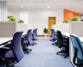 Cada cor da cadeira para escritório permite identificar as funções de cada profissional