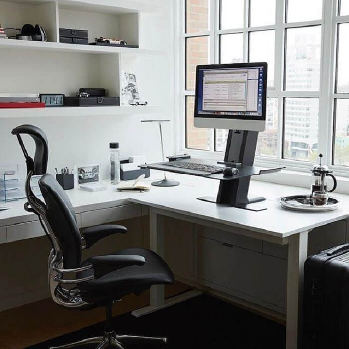 Cadeira para escritório do tipo presidente