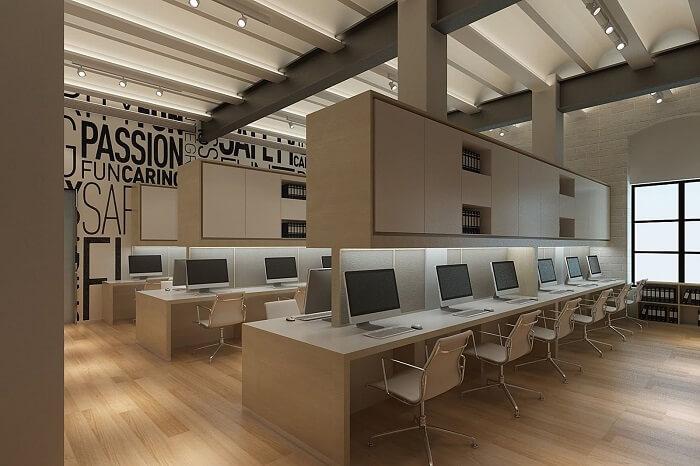 Cadeira para escritório sem rodízios