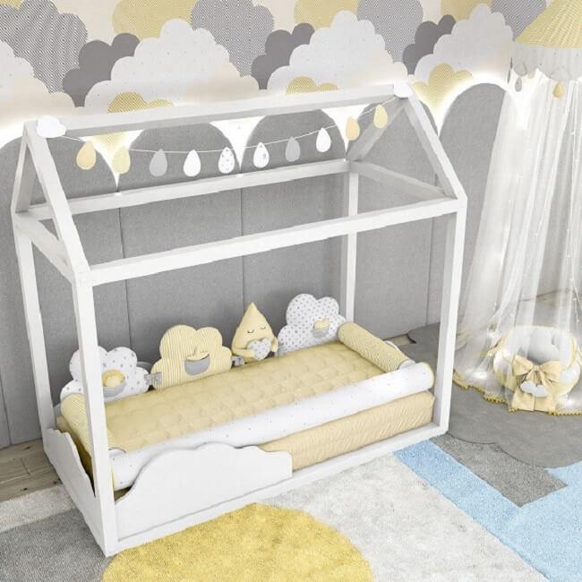 Que tal optar por uma cama montessoriana no quarto de bebê?