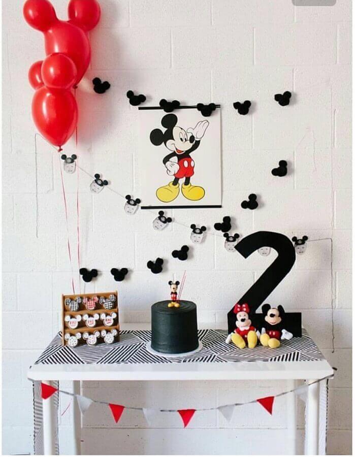 Mickey como temas de festa infantil mais procurado Foto Eu Crio Moda