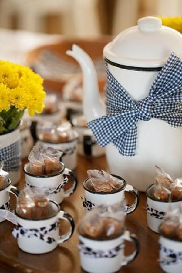 The dulce de leche can not be missing in the farmhouse party