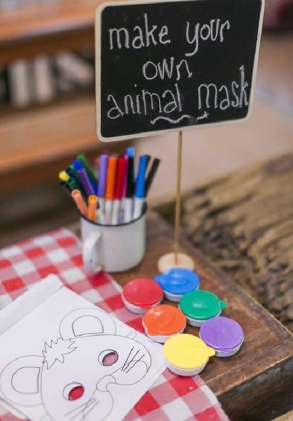 Set aside a space for children to use their creativity