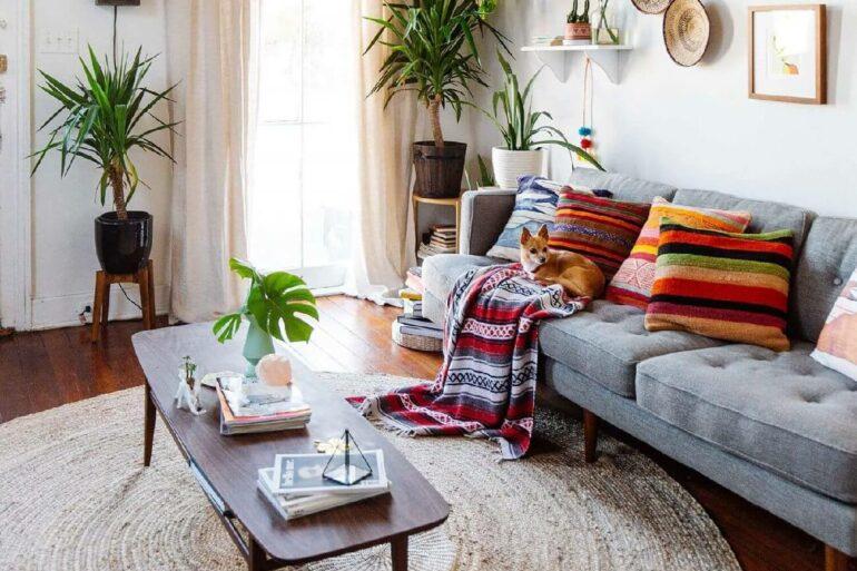 O material dos tapetes para sala vai influenciar no seu estilos de decoração