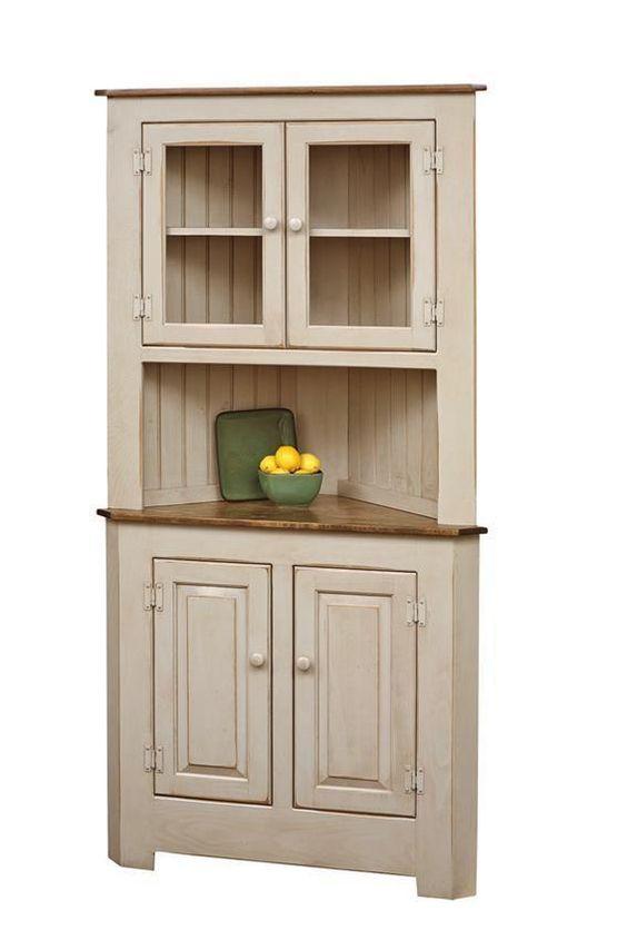 armário de canto - armário clássico de canto bege