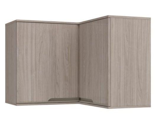 armário de canto - armário de canto aéreo de madeira