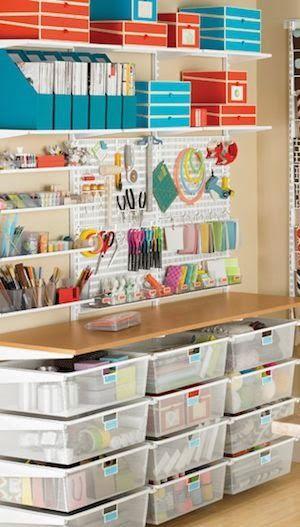 atelier de costura - ateliê com gavetas