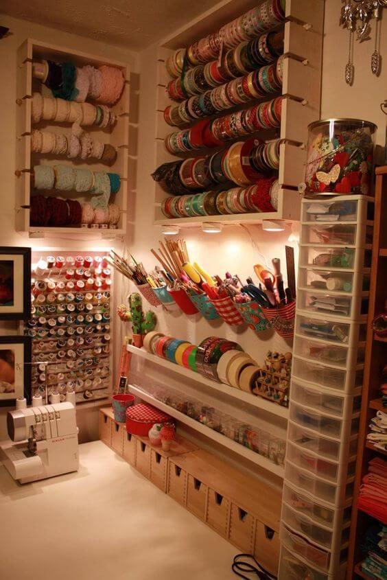 atelier de costura - ateliê completo
