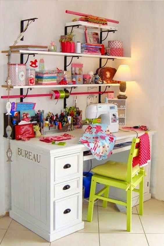 atelier de costura - ateliê de costura colorido