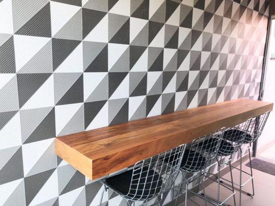 bancada de madeira - bancada de madeira como mesa simples