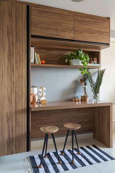 bancada de madeira - móvel inteiro de bancadas de madeira