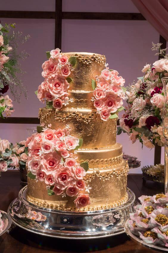 bolo de 15 anos moderno