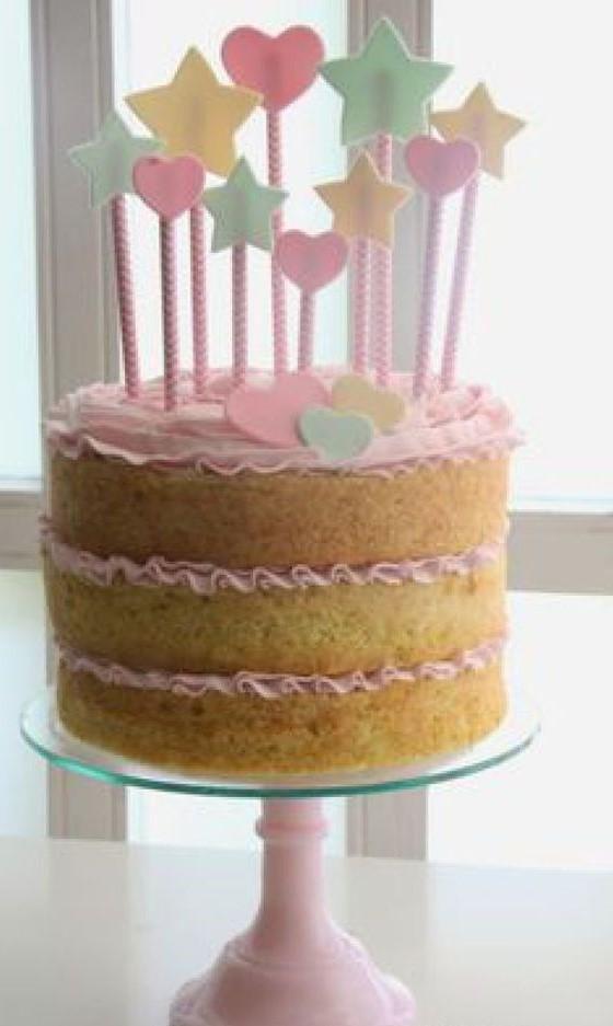 bolo de 15 anos simples