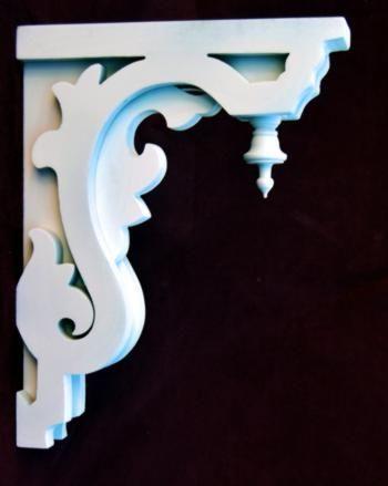 cantoneira - cantoneira decorada branca
