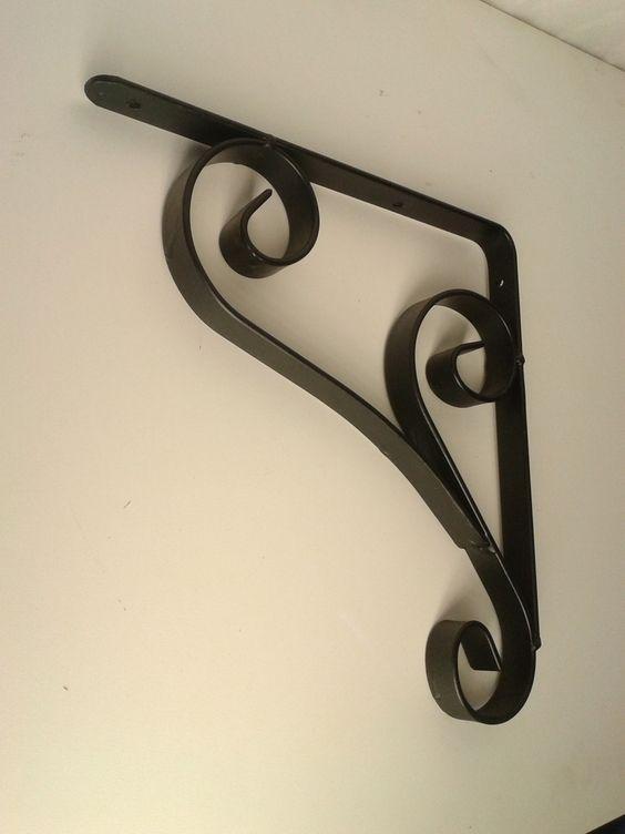 cantoneira - mão francesa clássica de metal