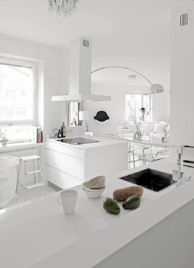 decoração para cozinha branca Foto Scent of Obsession