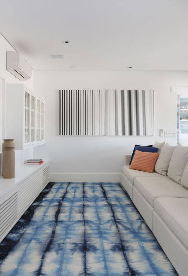 tapete para sala de estar