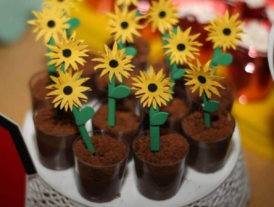 candies decorated for the little farm party Photo Studio Tututiti