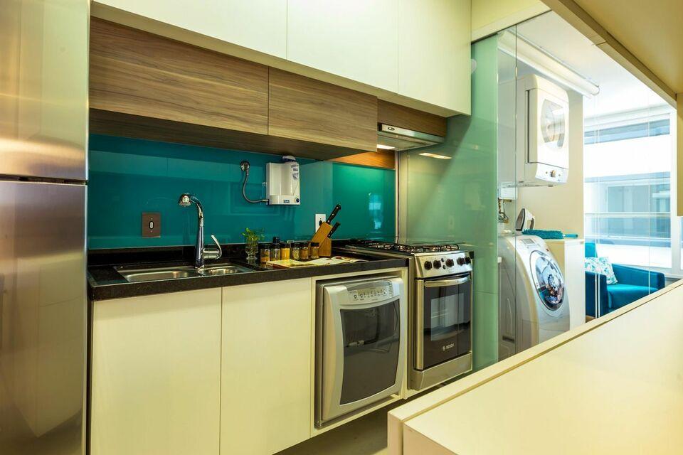 eletrodomésticos para cozinha - cozinha colorida