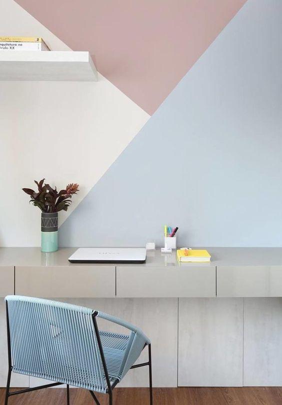 escrivaninha suspensa - escrivaninha suspensa cinza com gavetas