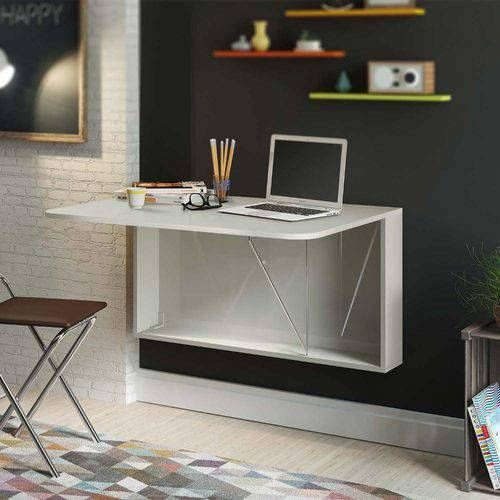 escrivaninha suspensa - escrivaninha suspensa dobrável