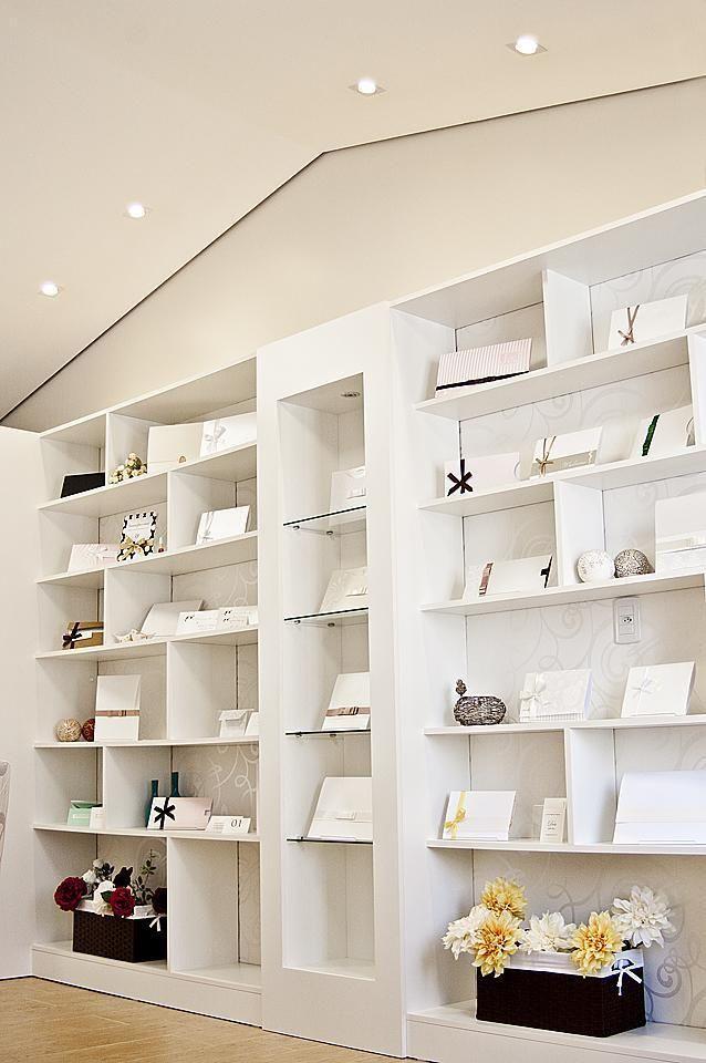 estante - estante clean com compartimentos