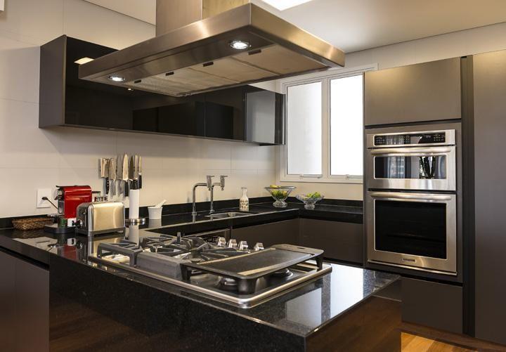 fogão cooktop - cozinha americana com cooktop