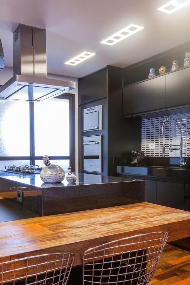 fogão cooktop - ilha para cozinhar para os amigos