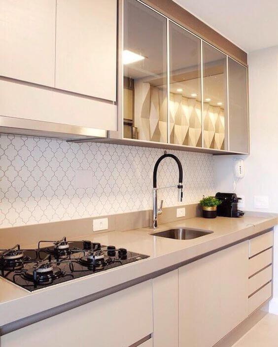 Fogão 4 bocas para cozinha planejada