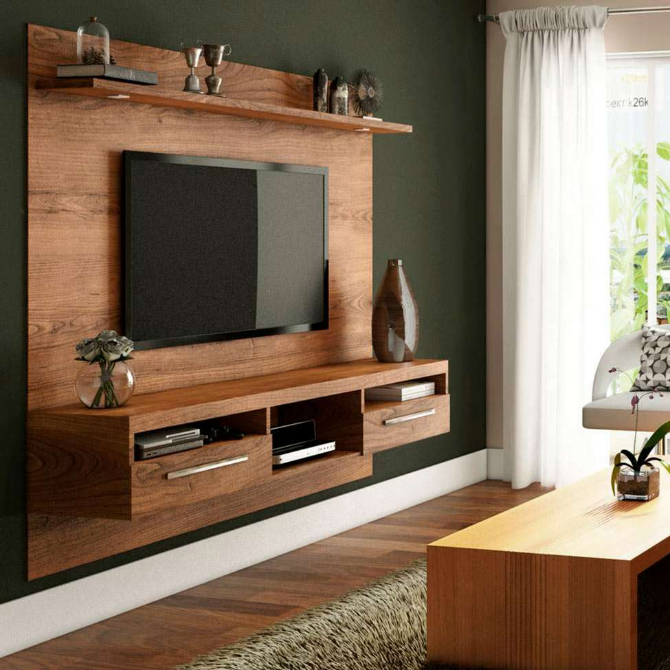 home para sala - home para sala de estar feito em madeira
