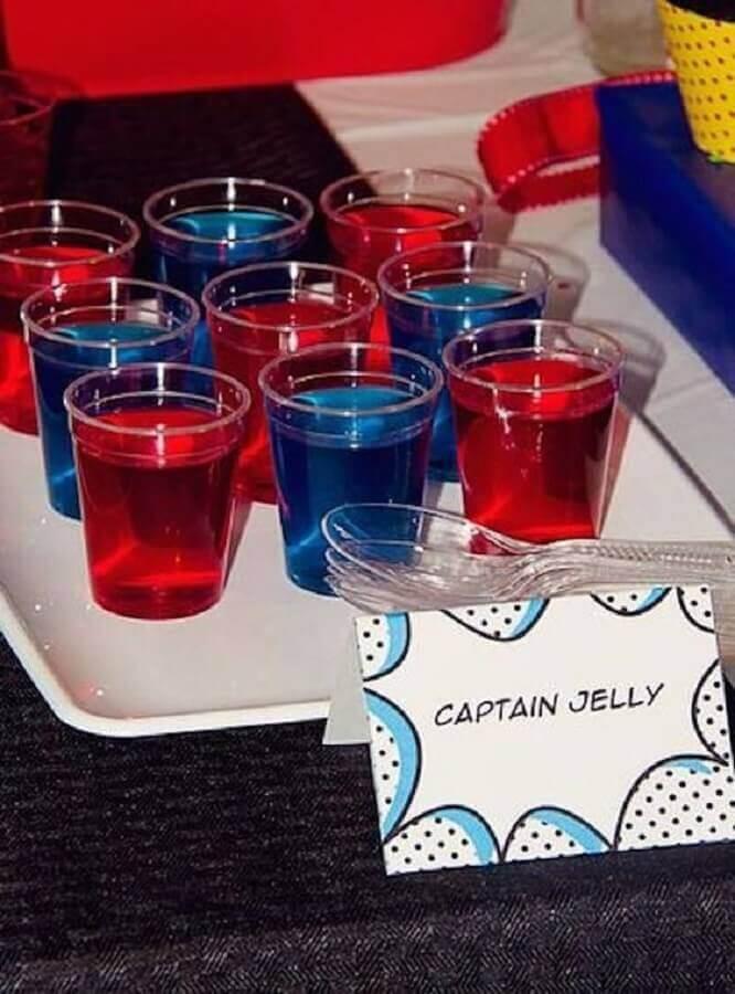 ideias de doces para festa do homem aranha simples Foto O Cantinho da Nati