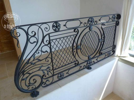 modelos de grades - grade de escada