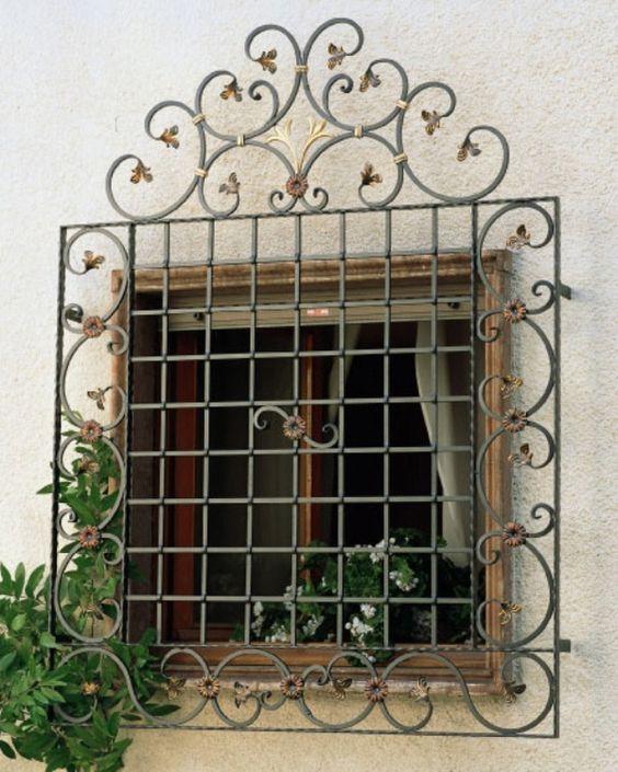 modelos de grades - grade de janela
