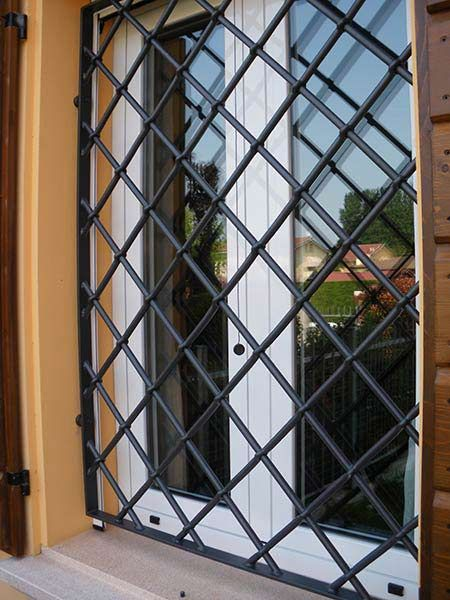 modelos de grades - grade simples de janela
