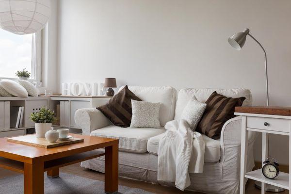 Móveis na cor off white