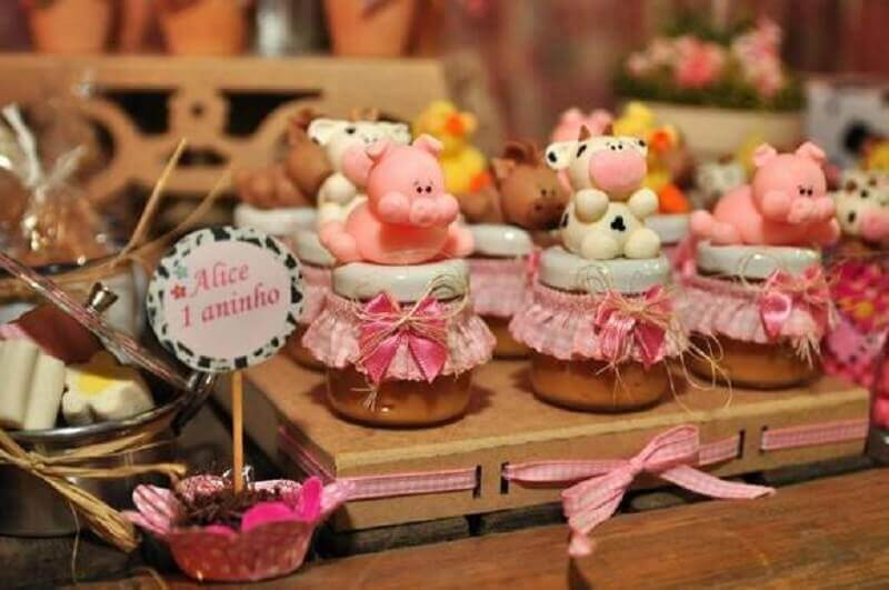 custom candy pots for party decoration small farm party Photo Elo 7
