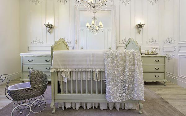 Quarto de bebê na cor off white