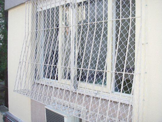 redes de proteção - janela com rede de proteção