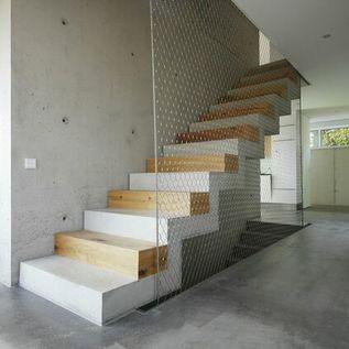 redes de proteção - rede de proteção em escada