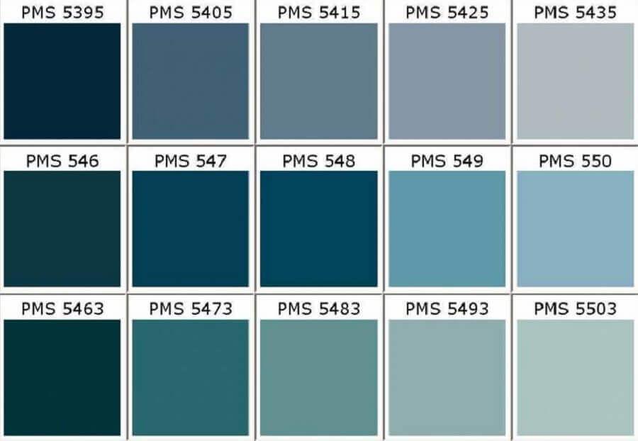 tabela de cores azul petróleo Foto Pinterest