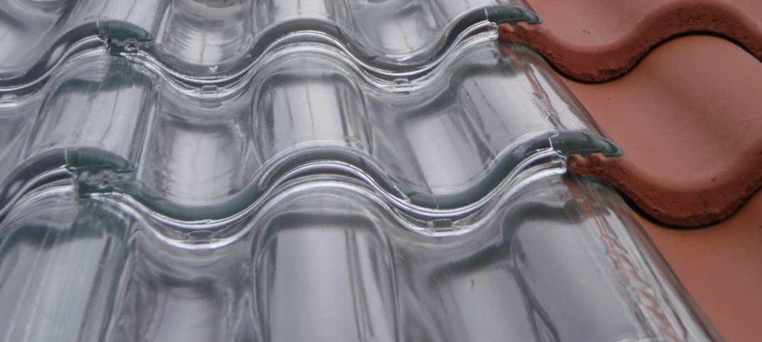 telha portuguesa - telha portuguesa de vidro