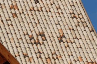 telha portuguesa - telha portuguesa mesclada