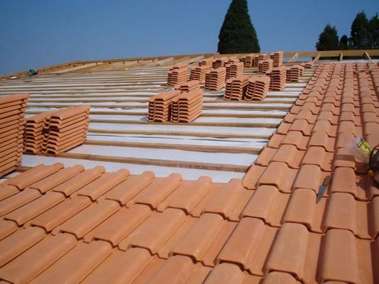 telha portuguesa - telhado com telhas portuguesas