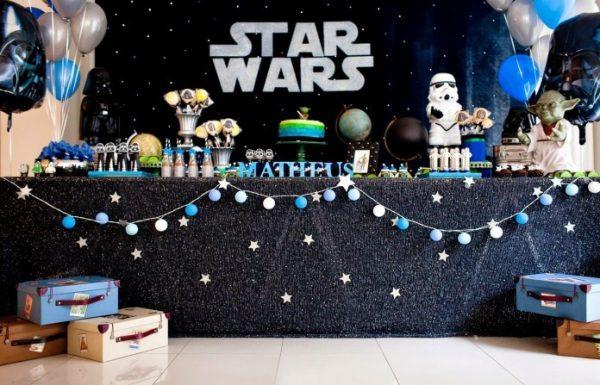 Tema de festa infantil Star Wars