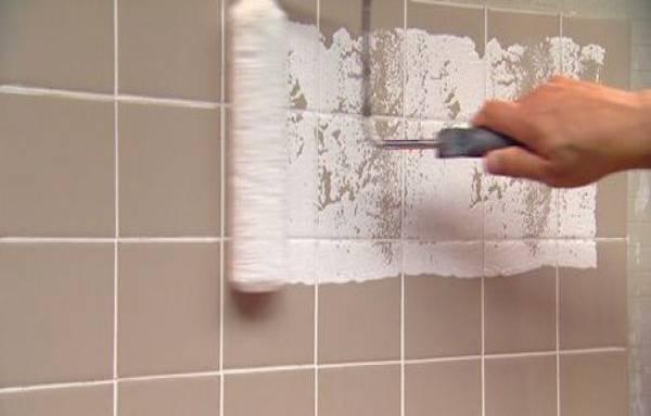 Veja como pintar azulejo com tinta para azulejo